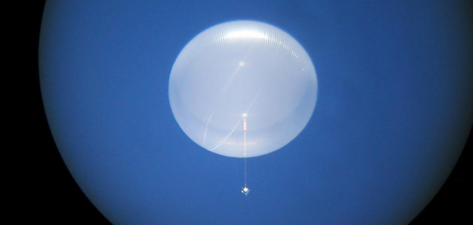 Nasa-Ballon Antarctica