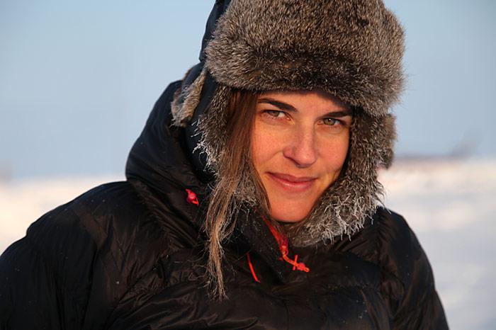 Mit dabei, Nicole Ulrich - die Moderatorin der Sendung «Einstein».